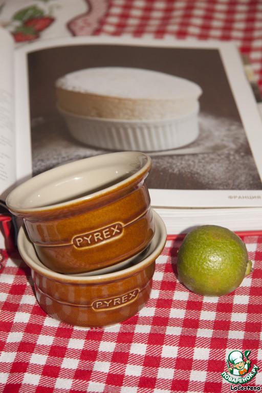 Лимонно-кокосовое суфле