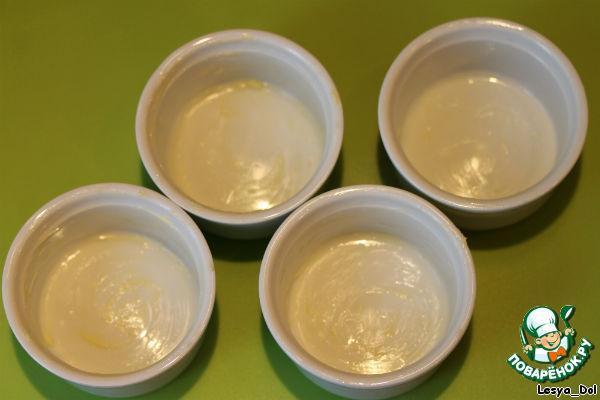 Корзиночки с ванильным кремом и земляникой