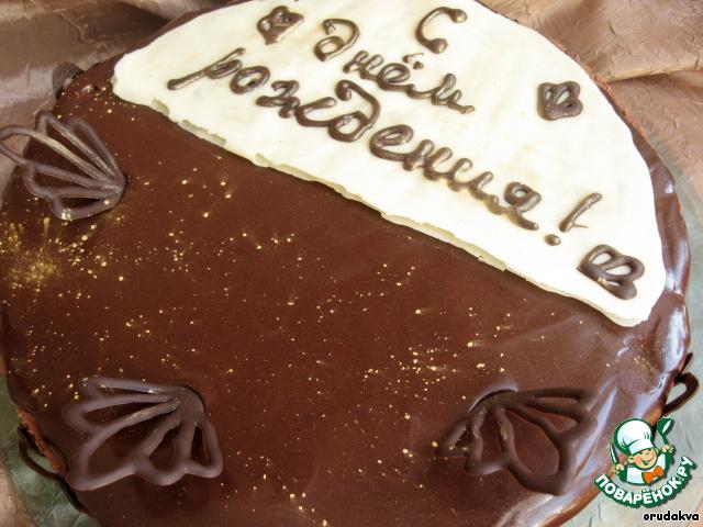 Шоколадно-муссовый торт от Адриано Зумбо