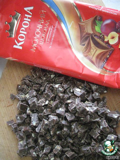 Пирожное Клубнично-шоколадное удовольствие