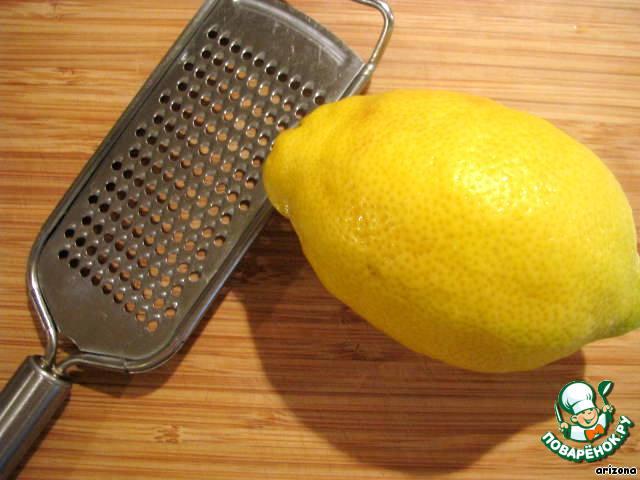 Клубнично-лимонный торт
