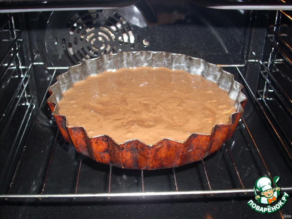 Торт с зефиром и орехами