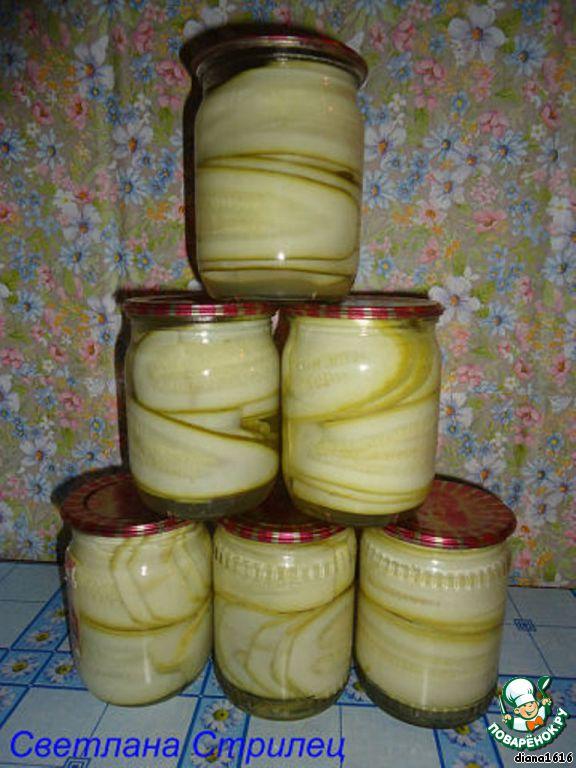 рецепт из кабачков на зиму рецепт с фото