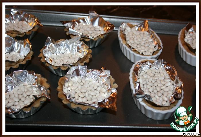 Фруктово-шоколадные корзиночки