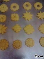 Песочное печенье с кунжутной обсыпкой ингредиенты