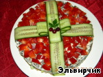 """Салат """"Подарок"""", пошаговый рецепт, фото, ингредиенты - Elena F."""