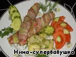 Горячая закуска в беконе – кулинарный рецепт