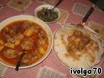 Корма  с курицей и картошкой – кулинарный рецепт