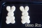 Пасхальные зайцы и куличи детские - кулинарный рецепт