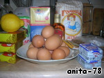 Пасхальный кулич ингредиенты
