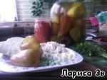 Перчик, фаршированный пшеном и куриными грудками ингредиенты