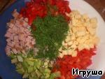 Салат К празднику ингредиенты