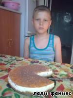 Апельсиновый торт из печенья или ирония судьбы