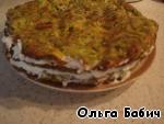 Торт из кабачков ингредиенты