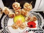 Шашлычки куриные цитрусовые – кулинарный рецепт