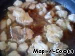Курица тушеная в кофе и сливках – кулинарный рецепт