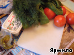 Салат из шпината и феты ингредиенты