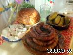 Деревенская пальцемпханная колбаса ингредиенты