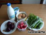 Шалтибарщай (холодный борщ по-литовски), пошаговый рецепт, фото, ингредиенты - Констанция