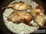 Куропатки, запеченные в сметане – кулинарный рецепт