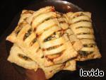 Пирожки слоеные – кулинарный рецепт