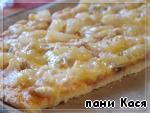 Пицца-тропикана – кулинарный рецепт