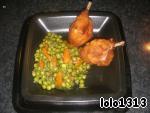 Гарнир из зелeного горошка – кулинарный рецепт