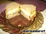 Иракский сэндвич Сабиах ингредиенты