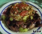 Жареные перепела Вероники в ежевичном соусе с гренками            (cailles Veronique) ингредиенты
