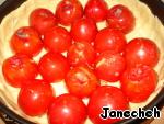 Киш с фаршированными помидорами – кулинарный рецепт