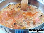 Паста с мидиями в сливочном соусе ингредиенты