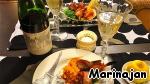 """А это наш романтический ужин вчера.   Романтический ужин должен провоцировать фантазии и возбуждать любовный пыл, он должен приподнять нас над прозой жизни!   И самое лучшее для этого - то, что по-французски зовется """"фрю де мэр"""", по-итальянски - """"фрутти де маре"""", а по-русски, дословно, -   """"Морские фрукты"""" или Дары моря!"""