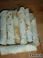 Горячая закуска из лаваша – кулинарный рецепт