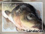 """Амур """"Рыба на плоту"""" – кулинарный рецепт"""