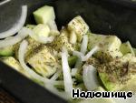 Печеные кабачки с мясом и травами – кулинарный рецепт