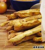 Хлебные палочки с луком ингредиенты