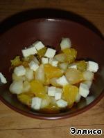 Фруктовый салат с брынзой ингредиенты