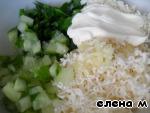 """Колбасные """"тарелочки"""" с салатом – кулинарный рецепт"""