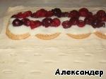 """Штрудель """"Яблоко с вишней"""" – кулинарный рецепт"""