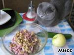 Салат с языком ингредиенты