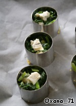Полента с овощами-гриль – кулинарный рецепт