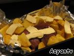 Мясо в фольге, запеченное в духовке ингредиенты