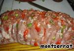Свинина, фаршированная мясом ингредиенты