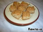 """Кунжутное печенье """"Сезам"""" – кулинарный рецепт"""