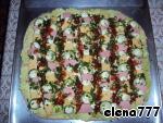 """Мега-пицца """"Семейная"""" – кулинарный рецепт"""