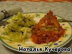 Фаршированные кальмары в томатном соусе – кулинарный рецепт