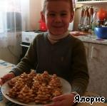 """Новогодняя закуска """"Елочки"""" – кулинарный рецепт"""