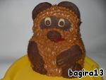 ❂ Заказать торт с реалистичными персонажами из Винни Пуха в Москве
