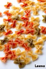 Фарфалле (бантики) с неаполитанским томатным соусом ингредиенты