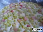Пирог с ревенем ингредиенты